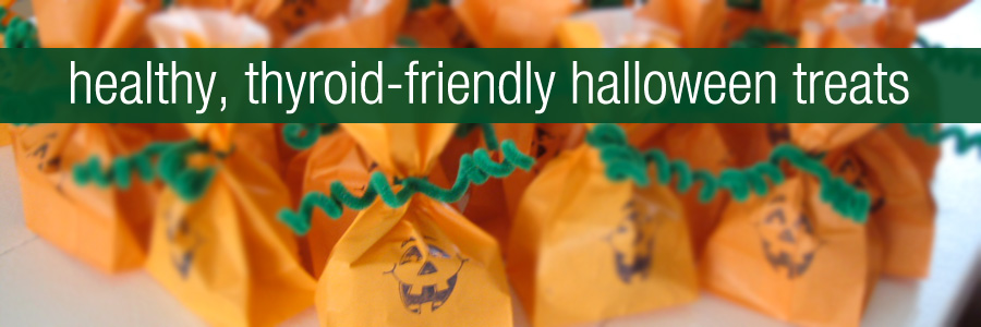 Healthy, Thyroid Friendly Halloween Treats